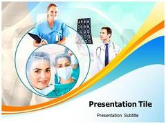 Physician Team PowerPoint Background
