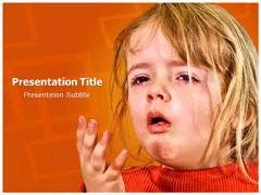 Diphtheria Template PowerPoint