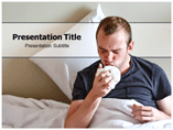 Pneumonia Symptoms Template PowerPoint