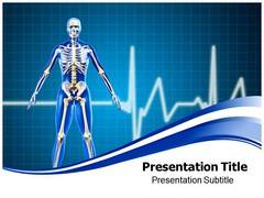 Human Skeleton Templates Power Point