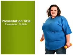Obesity Prevention PowerPoint Theme