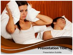 Sleeping Apnea PowerPoint Theme
