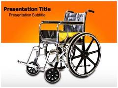 Wheelchair PowerPoint Theme