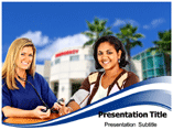 Travel Nursing PowerPoint Theme