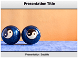 Chinese Therapy Balls PowerPoint Slides, Chinese Therapy Balls PowerPoint Slide Templates