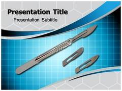 Surgical Blades PowerPoint Backgrounds