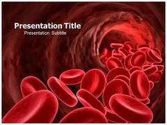 Blood Cells Template PowerPoint