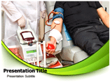 Blood Transfusion Anemia PowerPoint Background