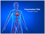 CardiovascularDisorders PowerPoint Template, Cardiovascular Disorders PowerPoint Backgrounds