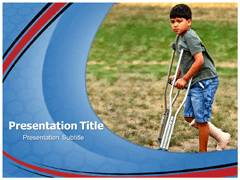 Crutch Template PowerPoint