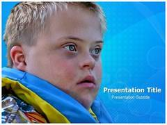 Down Syndrome PowerPoint Background