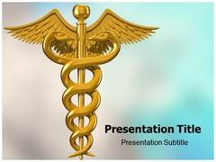 Caduceus Symbol PowerPoint Slides