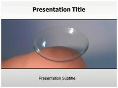 Contact Lens PowerPoint Slides