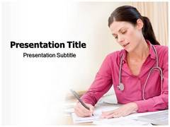 Personal Health Record Template PowerPoint