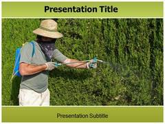 Pesticide PowerPoint Background