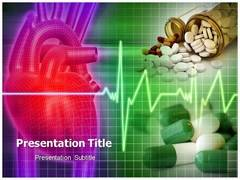 Heart Medicine PPT Templates,  Heart Medicine PowerPoint Slide Templates