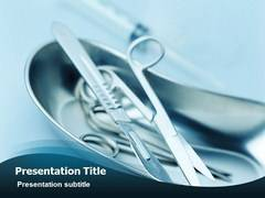 Surgical Instruments Template PowerPoint