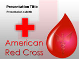 Red Cross PowerPoint Template