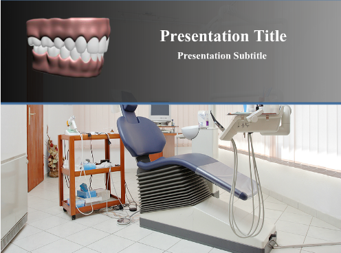 Dental Prosthesis PowerPoint Template