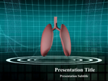 Human Lungs Powerpoint Template