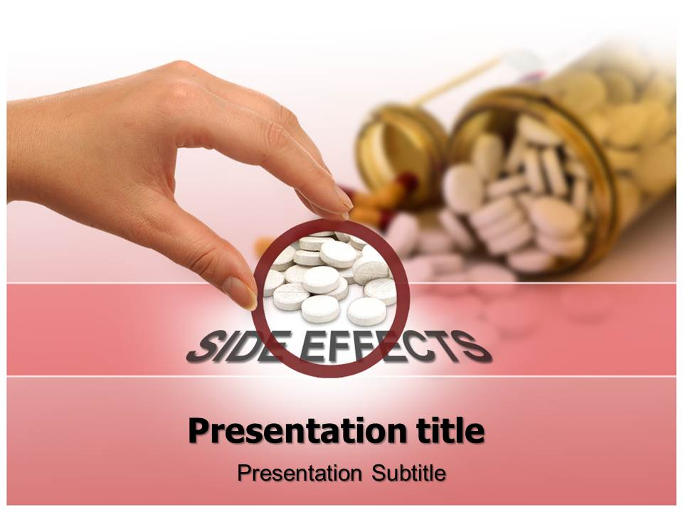 Side effects Powerpoint Template