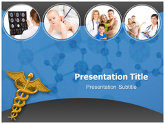 Doctor and Family Relationship Powerpoint Template