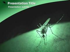 Malaria Treatment Template PowerPoint